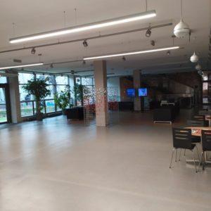 Zdjęcie przedstawia główny hol TCK