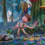"""Kadr z filmu animowanego """"Mój przyjaciel Ufik"""""""
