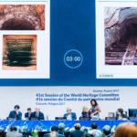 Zdjęcie przedstawia sesję komitetu światowego dziedzictwa