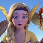 """Kadr z filmu animowanego """"Bayala i ostatni smok"""""""
