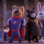 """Kadr z filmu animowanego """"Superpies i Turbokot"""""""