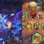 Zdjęcie przedstawia zrzuty ekranu z gier