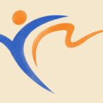 logotyp zespołu TESS w kolorach niebieskim i żółtym