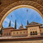 zdjęcie fasady budynku gdzieś w Andaluzji