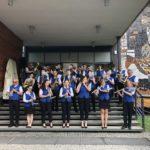 zdjęcie członków Tarnogórskiej Orkiestry Dętej